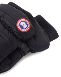 Canada Goose | Black Lightweight Down Gloves for Men | Lyst