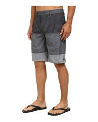 Rip Curl - Gray Mirage Ignition Boardwalk Shorts for Men - Lyst