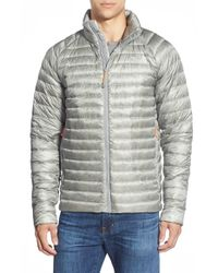 The North Face | Gray 'quince' Water Repellent Down Jacket for Men | Lyst