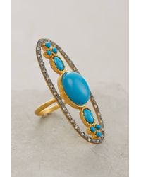 Anthropologie | Blue Omorose Ring | Lyst