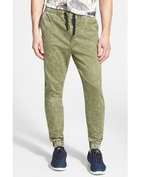 Ezekiel | Green 'down Under' Jogger Pants for Men | Lyst