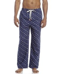 Original Penguin | Blue Logo Print Lounge Pants for Men | Lyst