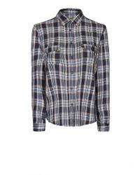 Mango | White Chiffon Paisley Shirt | Lyst