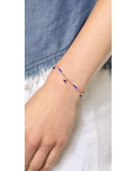 Shashi | American Lilu Bracelet - Red/White/Blue | Lyst