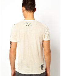 Elvis Jesus - White Tshirt Punkt for Men - Lyst