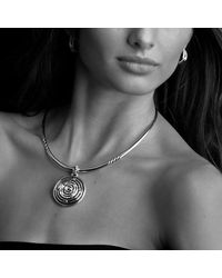 David Yurman | Metallic Metro Collar Necklace | Lyst