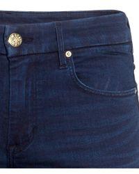 H&M - Blue Straight Regular Jeans - Lyst