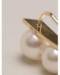 Sophie Bille Brahe | Metallic 'Croissant' Ear Cuff | Lyst