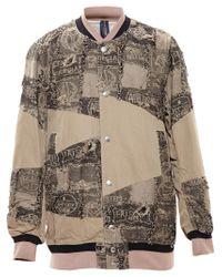 Miharayasuhiro - Natural Baseball Jacket for Men - Lyst