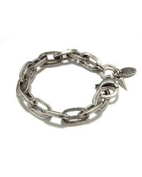 Bing Bang | Metallic Boyfriend Chain Bracelet | Lyst