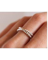 Lumo | Metallic Promise Ring | Lyst