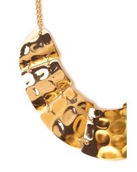 Forever 21 - Metallic Shining Armor Bib Necklace - Lyst