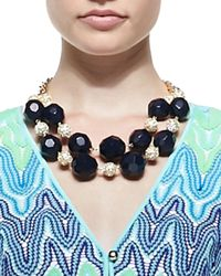 Lilly Pulitzer | Blue On-The-Rocks Necklace | Lyst