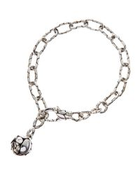 John Hardy | Metallic Kali Silver-Link Ball-Charm Bracelet | Lyst