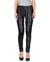Twin Set - Black Casual Trouser - Lyst