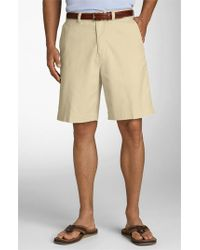 Tommy Bahama | Natural 'ashore Thing' Flat Front Shorts for Men | Lyst