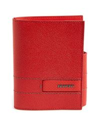 Ferrari | Red 'gt' Wallet for Men | Lyst