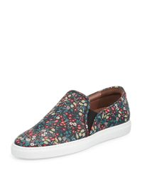 Tabitha Simmons - Multicolor Huntington Floral-print Slip-on Sneaker - Lyst