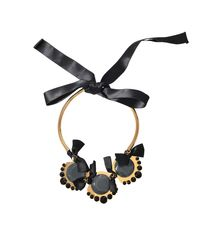 Marni   Black Bows Necklace   Lyst
