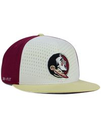 Nike | Red Florida State Seminoles True Seasonal Snapback Cap for Men | Lyst