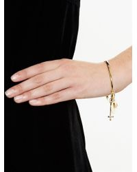 Chloé | Metallic Cross, Fork And Harlow Charm Bracelet | Lyst