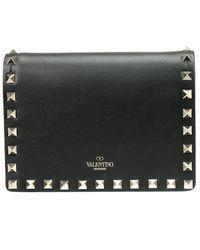 Valentino - Black Women's Clutch - Lyst