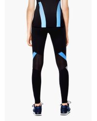 Mango - Black Fitness & Running - Slimming Effect Leggings - Lyst
