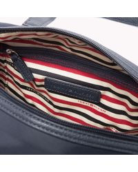 Tommy Hilfiger | Blue Textured Duffle | Lyst