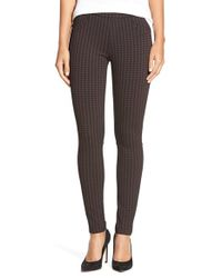 Sanctuary | Purple Checked Stretch-Jersey Leggings | Lyst