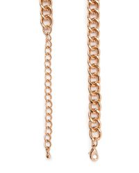 Forever 21 - Blue Faux Stone Bib Necklace - Lyst