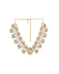 kate spade new york - Multicolor Crystal Arches Necklace - Lyst