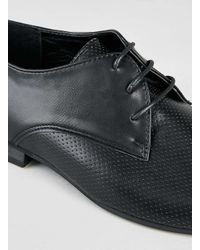 Topman - Black Leather Brogues for Men - Lyst