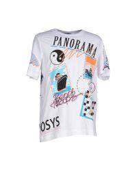 Love Moschino - White T-shirt for Men - Lyst