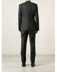 Dolce & Gabbana - Black Two Button Suit for Men - Lyst
