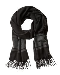 Banana Republic | Black Bold Stripe Scarf for Men | Lyst