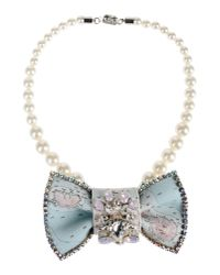 Bijoux De Famille - Blue Necklace - Lyst