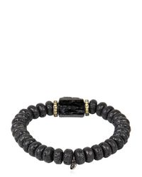 Ocnarf Sairutsa | Blue Rock And Raw Bracelet for Men | Lyst