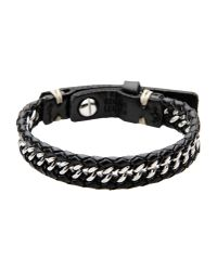 Fossil - Black Bracelet for Men - Lyst