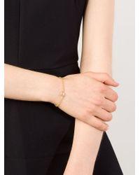 Marie-hélène De Taillac - Metallic Moonstone Lip Bracelet - Lyst