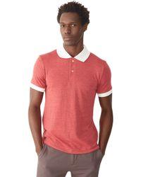 Alternative Apparel | Purple Feeder Striped Polo Shirt for Men | Lyst