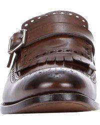 Harris - Brown Kiltie Monk-Strap Shoes for Men - Lyst