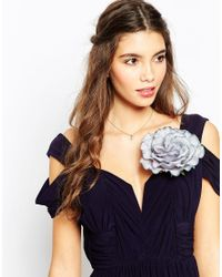 ASOS - Blue Oversized Rose Multiway Hair Or Body Corsage - Lyst