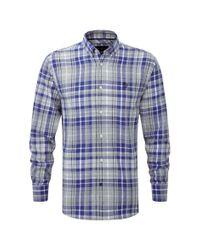 Henri Lloyd | Blue Lavenham Regular Shirt for Men | Lyst