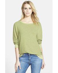 Wildfox | Green 'baggy Beach Jumper' Pullover | Lyst