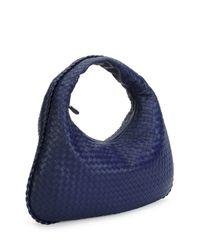 Bottega Veneta - Blue Veneta Large Hobo Bag - Lyst