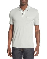 Original Penguin | Natural 'earl' Pique Polo for Men | Lyst