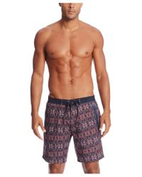 BOSS - Blue 'malabar' | Quick Dry Swim Trunks for Men - Lyst