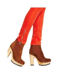Polo Ralph Lauren - Orange Tompkins Skinny Corduroy Pant - Lyst