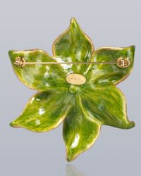 Jay Strongwater - Multicolor Sonia Daffodil Pin - Lyst