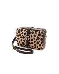 Clare V. - Multicolor Supreme Haircalf Mini Sac Leopard - Lyst